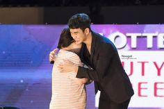 "cool Kim Soo Hyun -  on ""Lotte Family Concert"" in Busan. (04/09/2015)"