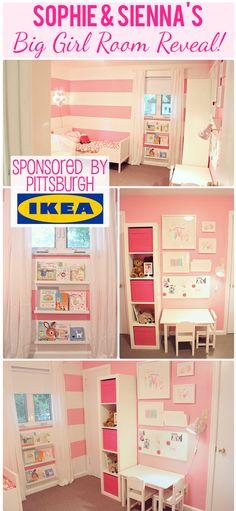 Super cute little girl's room!
