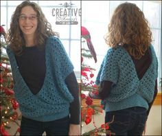 This Swirling Leaves Vest made with Heartland looks absolutely stunning.  Check out the crochet pattern by Cr8tion Crochet.