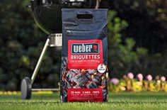 The new Weber® Briquettes light in just 20 minutes, taking all the hassle out of barbecuing!