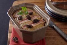 Recette de Terrine de volaille au foie gras et morilles Charcuterie, Chefs, Armagnac, Pudding, Yummy Food, Ainsi, Desserts, Menu, Savoury Tarts