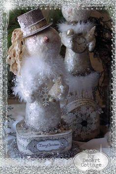 Vintage Snowman Tutorial