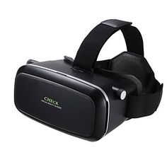 2016 New Version 3D VR Virtual Reality Glasses Headset with Head-mounted Headband and NFC Tag for 4.5-6.0 Inch Smartphones for 3D Movies and GamesGoogle iPhone Samsung Note LG HTC Moto