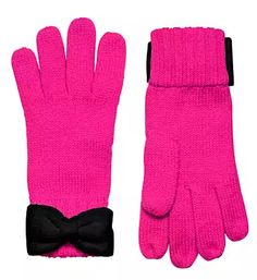 Cute kate spade bow gloves - on sale for $28 with code:  THRILL
