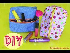 DIY | Costurinhas - Necessaire Box ( Passo a Passo ) - Bia Feltz - YouTube