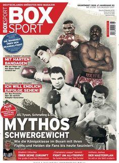 Mythos #Schwergewicht: #MuhammadAli, @MikeTyson, #MaxSchmeling & Co. 🥊 Jetzt in BoxSportMagazin:  #Boxen