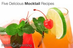 Five Delicious Mocktail Recipes