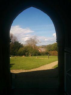 View from Church door