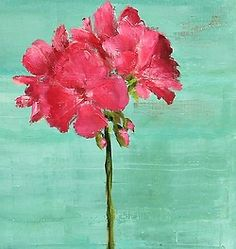 stilllifequickheart:  Hilda Oomen Pink Geranium 2013