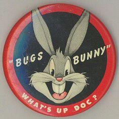 Bugs Bunny pinback