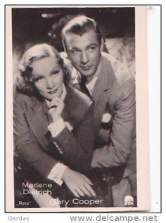 Marlene Dietrich - Gary Cooper - Photo 70x45mm - Attori