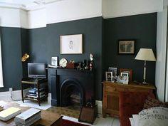 Lower black walls