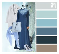 """Feeling BLUE"" by shukrclothing on Polyvore featuring Seed Design, MANGO, Miu Miu and Armani Jeans"