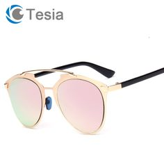 860930b86 Find More Sunglasses Information about TESIA Quality So Sunglasses Women  Brand Designer Cat Eye Glasses Female