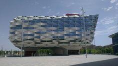 Zaragoza, Espana, Plza Expo