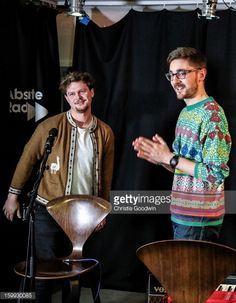 Joe Newman and Gus Unger-Hamilton of alt-J looking adorable in several pictures.