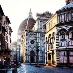 Piazza del Duomo in Firenze, Toscana