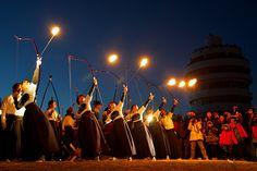Flaming arrow, Wakayama Prefecture, Kushimoto Town by masa5901, via Flickr
