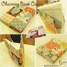Moda Bake Shop: Charming Book Cover  #modabakeshop #modafabrics #lovepinwin