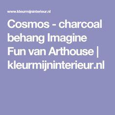Cosmos - charcoal  behang Imagine Fun van Arthouse | kleurmijninterieur.nl