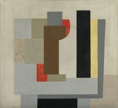 Ben Nicholson 1894 - 1982 COMPOSITION signed Ben Nicholson and dated 1931-36 on the canvas overlap, oil over pencil on canvas, 50.5 by 55.5cm. Painted in 1931-36.