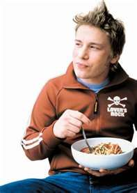 """I watch waaaaay too many food shows. IMHO, Jamie Oliver is GQ-worthy, but still normal looking. Overly """"polished"""" celeb chefs kinda freak me out. LOL"""