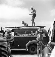 The Few, the Proud, the Totally Chill: LIFE With Old-School Beach Bums | LIFE.com San Onofre, Calif., 1950