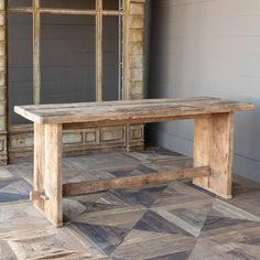 Primitive Farmhouse Prairie Table