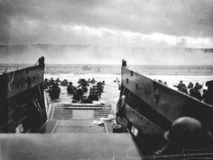 Robert Capa - D-Day landings, Omaha Beach, France.