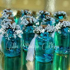 Nazar boncuklu kolonya şişeleri