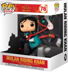 Mulan on Khan POP! – Buy now at EMP – More Fan merch Disney Animation available online - Unbeatable prices! Figurine Pop Disney, Pop Figurine, Funk Pop, Objet Harry Potter, Funko Pop Display, Funko Pop Dolls, Funko Toys, Armadura Cosplay, Funko Pop Anime