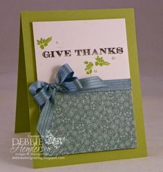 Stampin' Up! Holiday Invitation for Create with Connie & Mary Challenge #320. Debbie Henderson, Debbie's Designs.