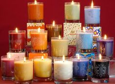 Great web shop with soap and fragrance candles ...