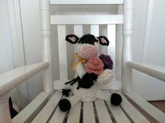 Cute Crochet Cow on Etsy