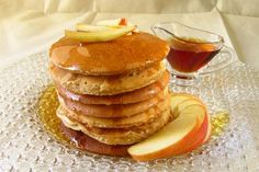 Apple Pancakes with Maple