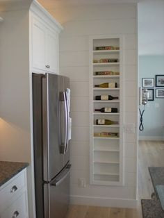 wall wine rack built in - Google Search