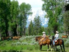 Triangle X Ranch in Moose, WY is an authentic working dude ranch located in the heart of Grand Teton National Park. Established in 1926 by the Turner family. Triangle X offers unparalleled horseback riding and one of the most complete outdoor recreational packages of any facility in the mountain west. Learn more at www.wyomingofficeoftourism.org.
