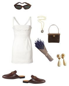 """""""178"""" by maddieobrown ❤ liked on Polyvore featuring Dsquared2, Gucci, Chanel and Yves Saint Laurent"""