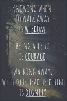 Wisdom. Courage. Dignity.