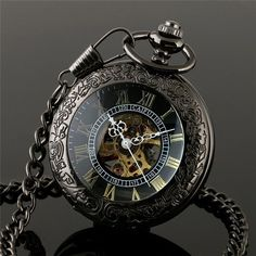 Steampunk Retro Pendant Pocket Watch