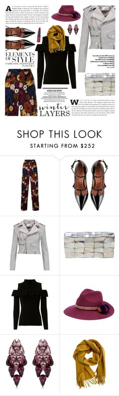 """Film Festival: Sundance Style"" by sinesnsingularities ❤ liked on Polyvore featuring Alice + Olivia, RED Valentino, W118 by Walter Baker, Jo-Liza, Exclusive for Intermix, YOSUZI, Ellen Conde, Hermès, Vera Wang and Rimmel"