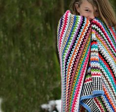 Ravelry: Scrappy Happy Blanket by Annette MB Ciccarelli