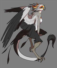 oxalis acetosella, furryartwork: jack-the-lion: cleanfurryfuzzbutts:. Fantasy Creatures, Mythical Creatures, Bird People, Furry Girls, Anime Furry, Anthro Furry, Creature Concept, Creature Design, Character Design Inspiration