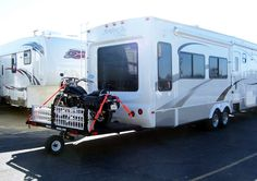 The ultimate single wheel trailer system.