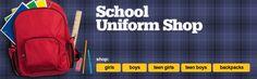 Shop our School Uniform Shop!