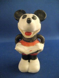 Mickey Mouse bisque singer (1930's)