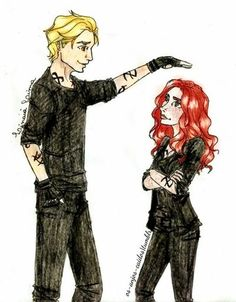 My name is not little girl by ~Linaia on deviantART - The Mortal Instruments - Cassandra Clare - Jace and Clary - Fan Art