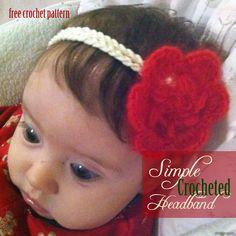 Free Crochet Pattern - Simple Crochet Headband