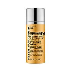 Peter Thomas Roth Camu Camu Power C X 30 Vitamin C Brightening C Sleeping Mask