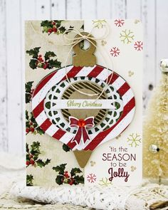 'Tis The Season Card by Melissa Phillips for Papertrey Ink (October 2014)